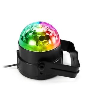 Image 3 - RGB LED para fiesta, luz de discoteca de efecto, lámpara láser de escenario, proyector RGB, lámpara de escenario, música, KTV, festival, Fiesta, lámpara LED, luz de dj