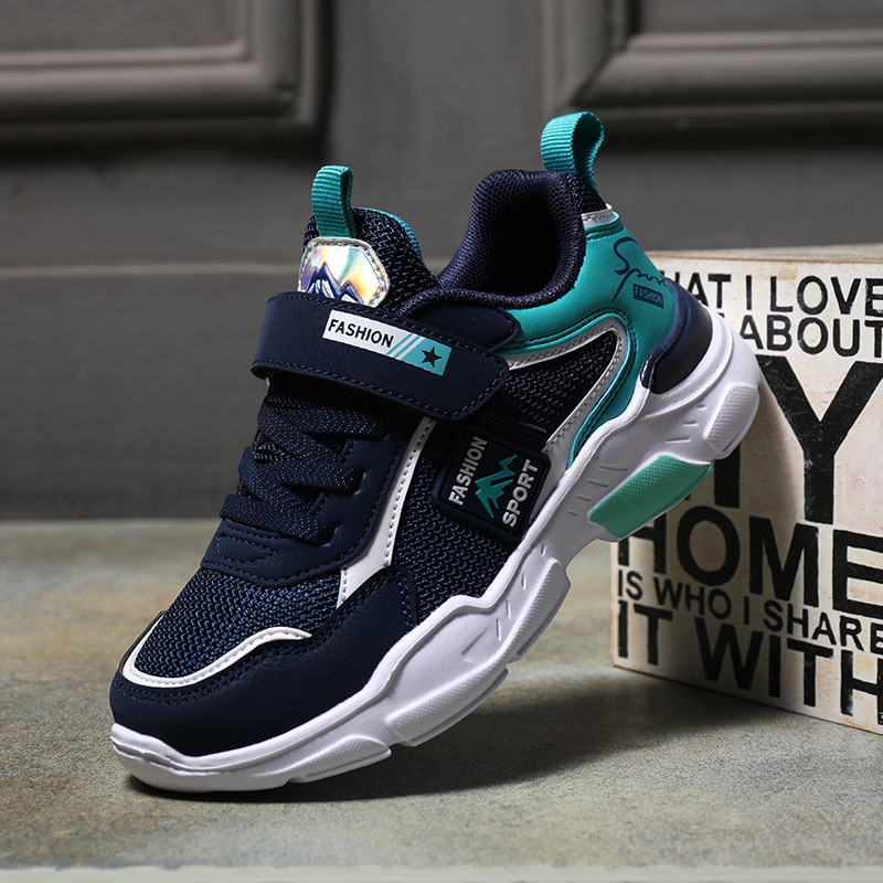 J&G Spring Autumn Children Casual Shoes Boys Sport Running Shoes Breathable Kids Sneakers Child Solid Canvas Shoes Toddler Shoes