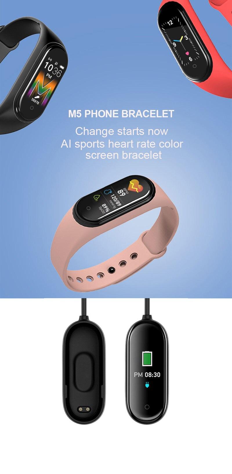 rastreador de fitness smartwatch banda esporte relógio para ios android