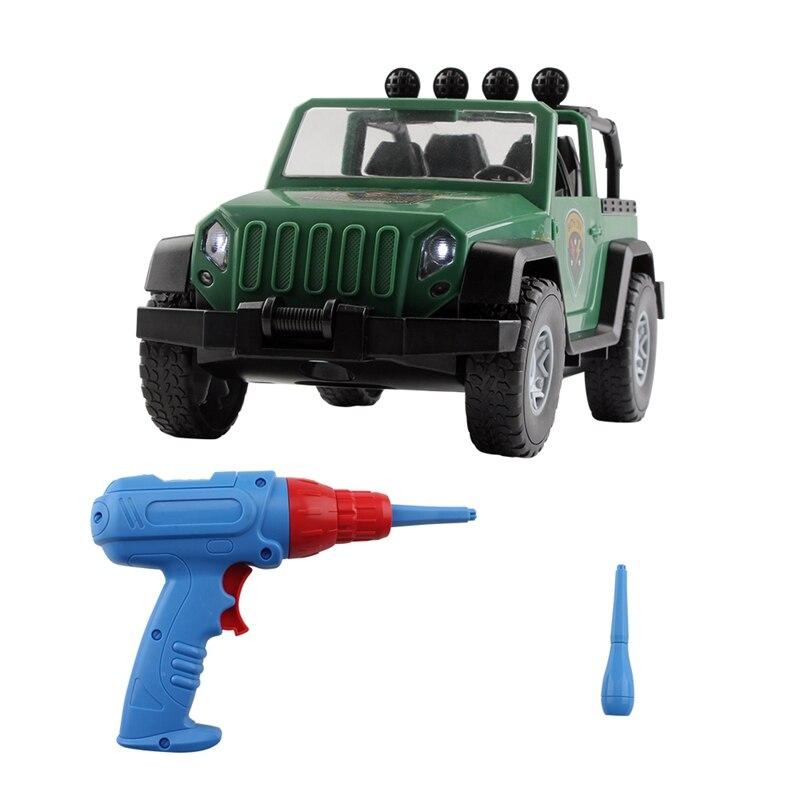 montagem suv brinquedo do carro destacavel carga e descarga porca combinacao de montagem ao ar livre