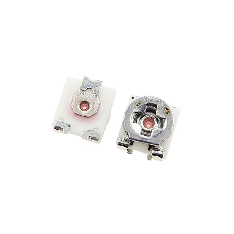 50pcs/lot 3x3 EVM3GSX50B SMDAdjustable Single Pot Potentiometer  5k 10k 20k 50k 100k 200k  500k Volume Control  Potentiometer