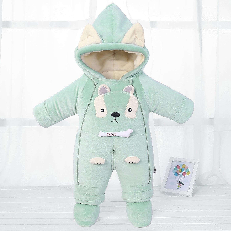 2019 mode nouveau-né hiver vestes bébé costume barboteuses vêtements filles vêtements corail polaire velours manteaux survêtement enfants garçons
