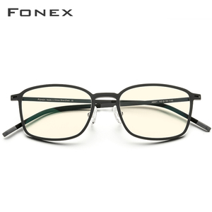 Image 3 - FONEX High Quality TR90 Anti Blue Light Glasses Men Reading Goggles Protection Eyeglasses Gaming Computer Glasses for Women AB01