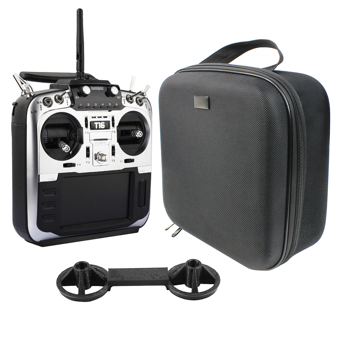 Jumper T16 Pro Hall Gimbal Open Source Built-in Module Multi-protocol Radio Transmitter 2.4G 16CH 4.3