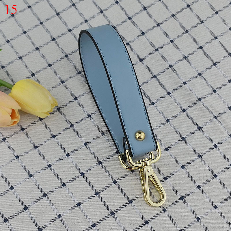 New Arrival Imitation Leather Bag Strap Replacement Solid Short Handbag Strap Adjustable Strap For Bag Accessories Wholesale