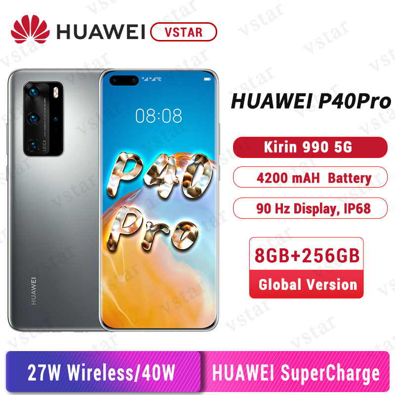 Huawei P40 Pro (5G) ELS-NX9 Dual/Hybrid-SIM