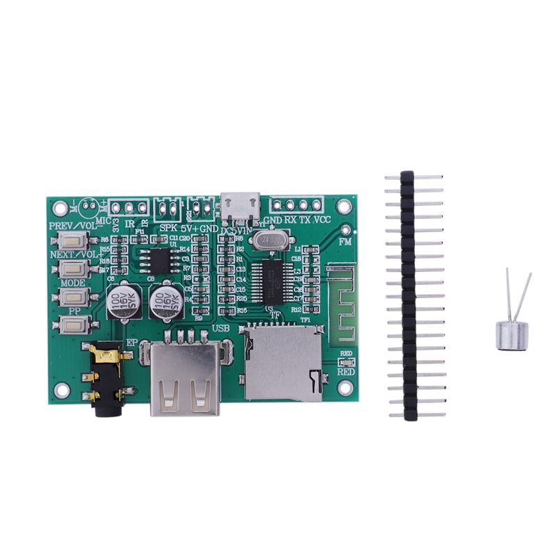 HFES Bt201 Dual Mode 5.0 Bluetooth Lossless Audio Power Amplifier Board Module Tf Card U Disk Ble Spp Serial Port Transparent Tr