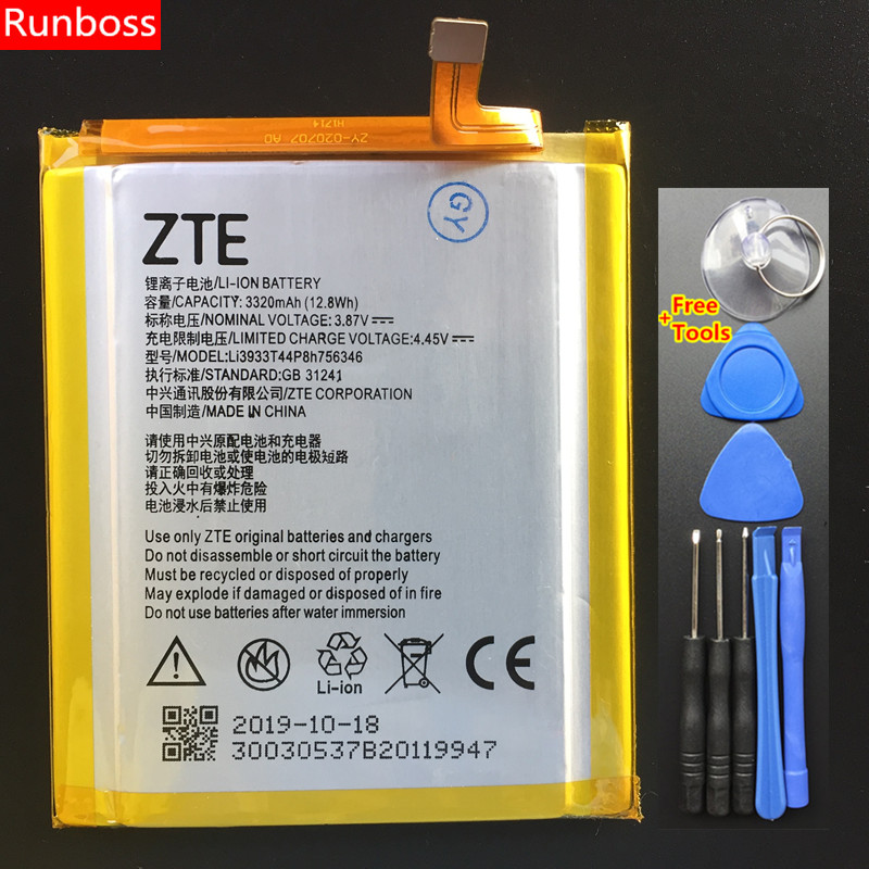 100% Original New 3320mAh Battery For ZTE A2017 <font><b>A2018</b></font> For ZTE Axon 7 For ZTE Axon 7S Battery High Quality image