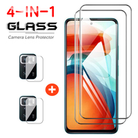 Pellicola per obiettivo a schermo intero 4 IN 1 per Xiaomi Poco X3 GT vetro protettivo temperato per telefono per obiettivo Poco X3 GT vetro POCO X3GT HD