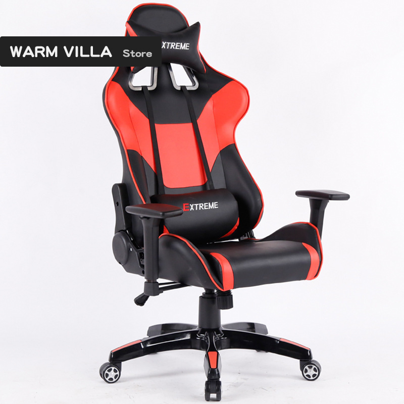 European New Pattern Computer Household Can Lie Game Boss To Work In An Office More Function Rotating Chair