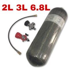Acecare Mini réservoir de plongée sous-marine 2L/3L/6.8L | Mini réservoir de plongée de plongée, Pcp Vavle fusil de l'air Condor CE cylindre en Fiber de carbone de 4500psi