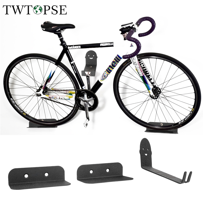 TWTOPSE Innovative Packing Bicycle Bike Racks Wall Mount Storage Holder Stand Support MTB Mountain Road Bike Bicycle Accessories brompton stickers