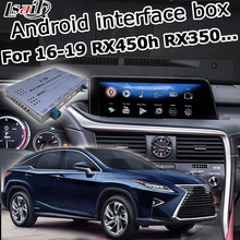 Android / Carplay Interface Box für Lexus RX 2016-2019 12,3 Video Interface mit Fern Touch Control RX350 RX450h durch Lsailt