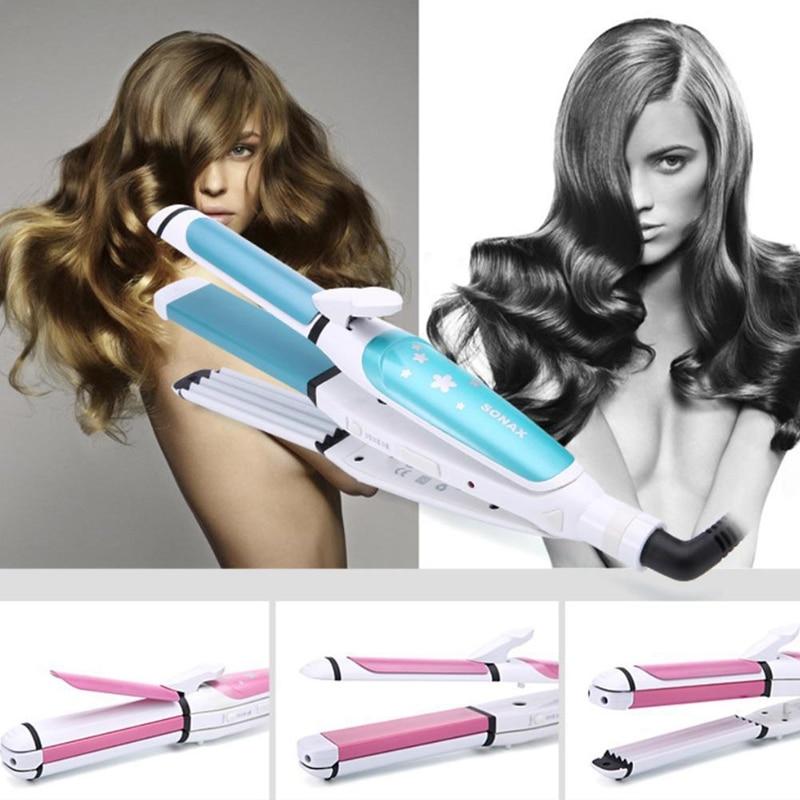 Sonax Pro Corn Hot Wave прямые волосы многофункциональные щипцы для завивки волос гофрированные пластины электрические щипцы для завивки волос локон инструменты для моделирования ЕС