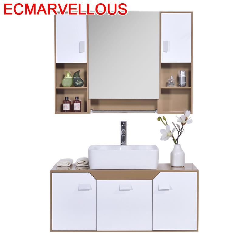 Rangement Schrank Furniture Banyo Dolabi Badkamer Kast Shelf Meuble Salle De Bain Vanity Banheiro Mobile Bagno Bathroom Cabinet