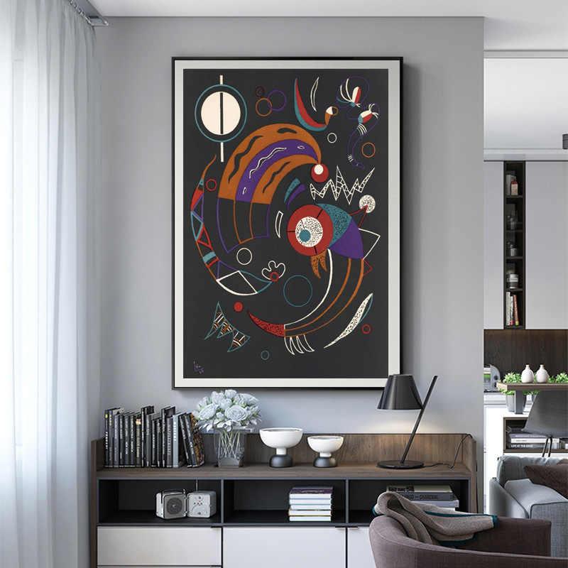 Wassily Kandinsky Kuyruklu Yildiz Orijinal Lithograph Baski Duvar