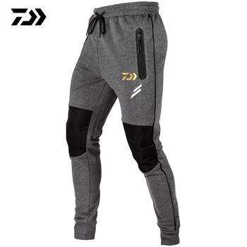 Spodnie wędkarskie Daiwa wodoodporne szybkie suche trekkingowe spodnie taktyczne dla mężczyzn elastyczne Camping piesze wycieczki wędkarskie spodnie do wspinaczki tanie i dobre opinie LANSHITINA