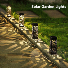 Solar Lawn Light Decoration Garden Hollow Lawn Lamp Outdoor Soalr Garden Lights Pathway Light Garden Solar led Light Waterproof