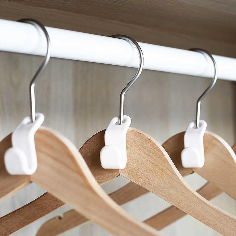 Space saving shirt hangers