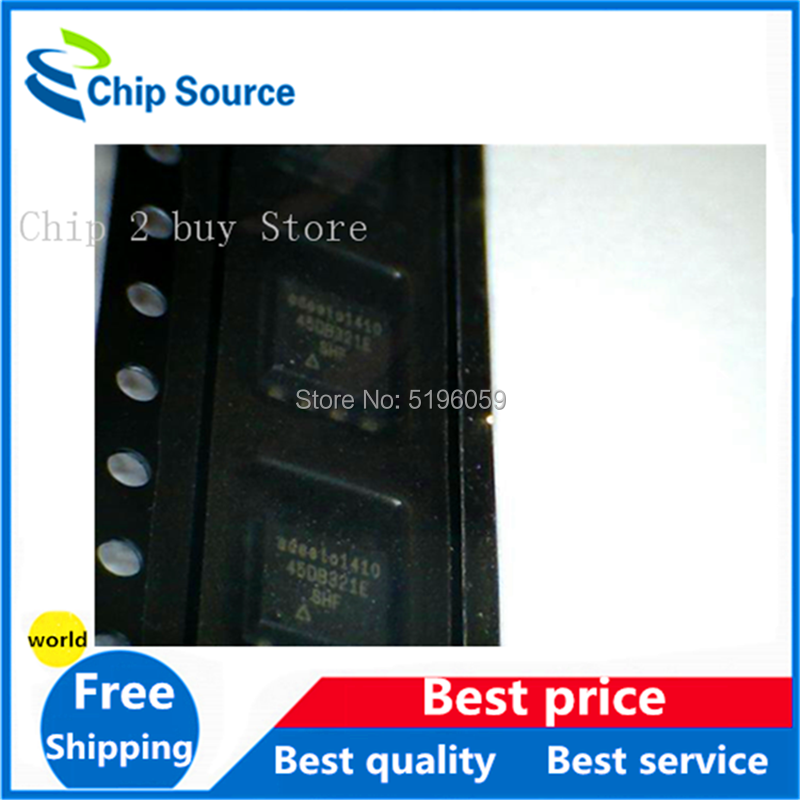 1 piezas AT45DB321E-SHF-B 8-SOIC código: 45DB321E AT45DB 16Mb (256 Bytes x 8192 páginas) circuitos integrados de memoria (IC) 8-dip
