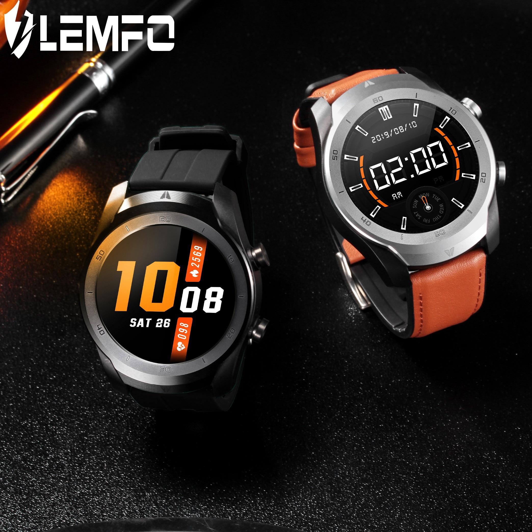 LEMFO DT79 2020 New Smart Watch Men Bluetooth Call 360*360 HD ECG+PPG Smart Watch Android IOS Bluetooth Music 560mAh Big Battery(China)