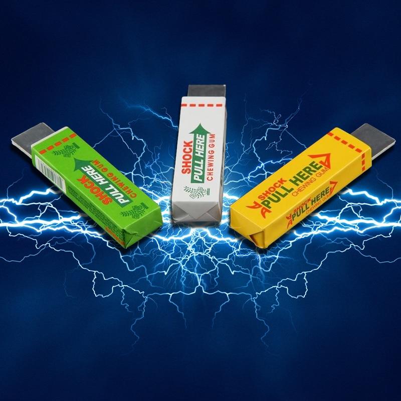 Electric Shocking Hand Chewing Gum Shocker Prank Trick Toy Joke Novelty Toys Anti-stress Shock Gaget Gaps Toys