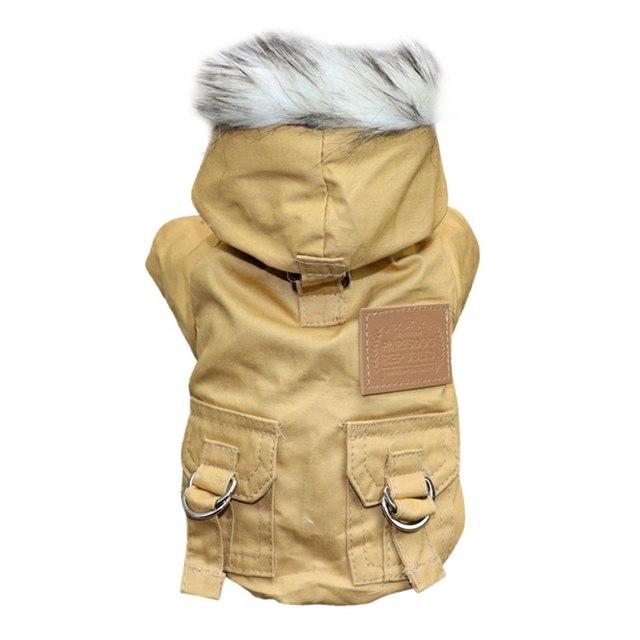 Winter Pet Dog Coat Clothes Warm Down Jacket Coat  5