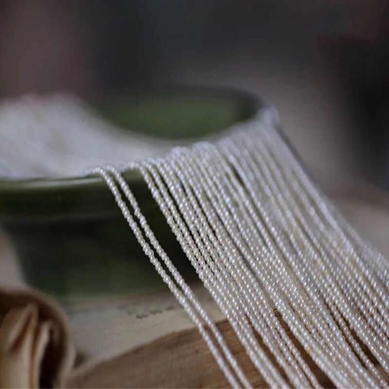 2 Mm Một Dây Nước Ngọt Vô Cùng Tỉ Mỉ Ngọc Trai Nhỏ DIY Đính Hạt Phụ Kiện Vòng Cổ Đính Hạt Chất Liệu Trang Sức Bán Buôn