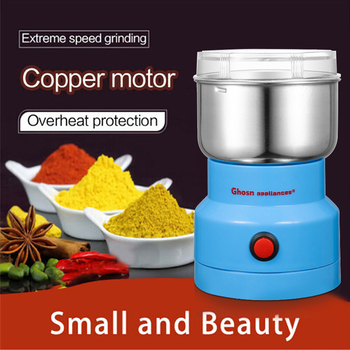 Powerful Grains Spices Grinder Hebals Cereals Coffee Dry Food Mill Grinding Machine Gristmill Home Medicine - discount item  44% OFF Kitchen Appliances