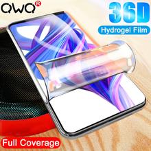 36D folia ochronna hydrożelowa do Huawei Honor 9 10 20 Lite 9X 30 Pro miękka folia ochronna do honoru 7A 10i 20i nie szkło tanie tanio CN (pochodzenie) Przedni Film Honor 10 Honor 8X Honor 9 lite Honor 30 Honor 30pro Telefon komórkowy For Huawei Honor 9 Hydrogel Film