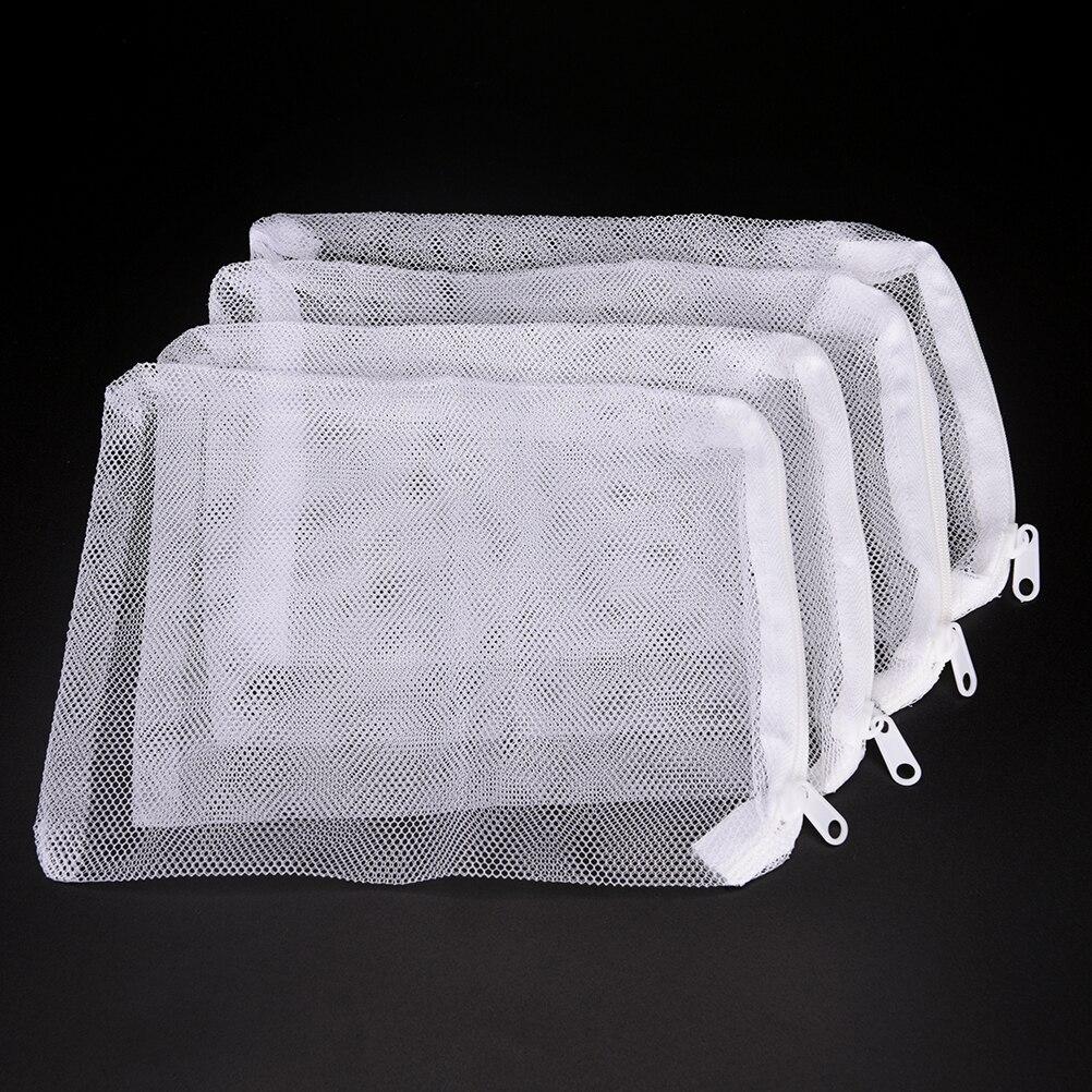 10PCS acquario serbatoio di pesce filtro sacchetto netto acquario per Bio palla carbonio Media ammoniaca acquario serbatoio di pesce isolamento cerniera sacchetto di maglia|Filtri e accessori| - AliExpress