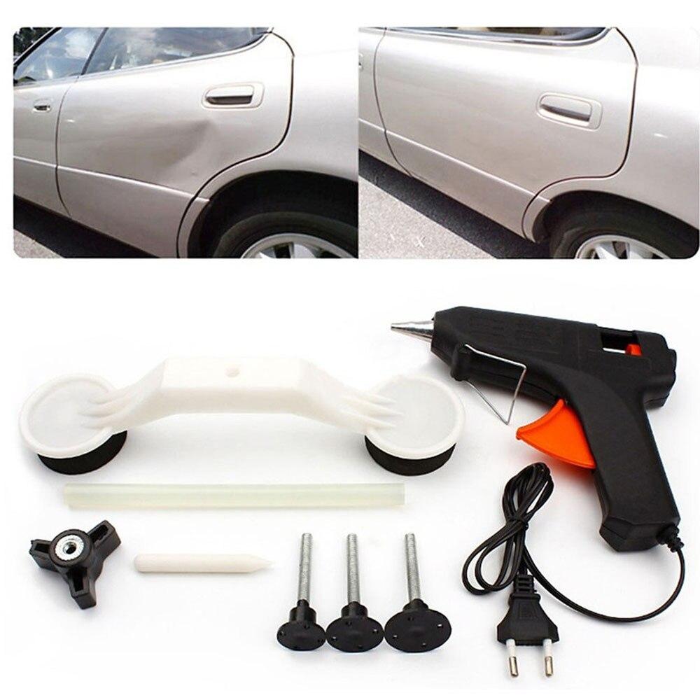 Auto narzędzia do naprawy samochodu wyskakuje Dent Ding pielęgnacja samochodu narzędzie naprawa Voiture akcesoria usuwanie zestaw pojazdów samochodowych Dropshipping