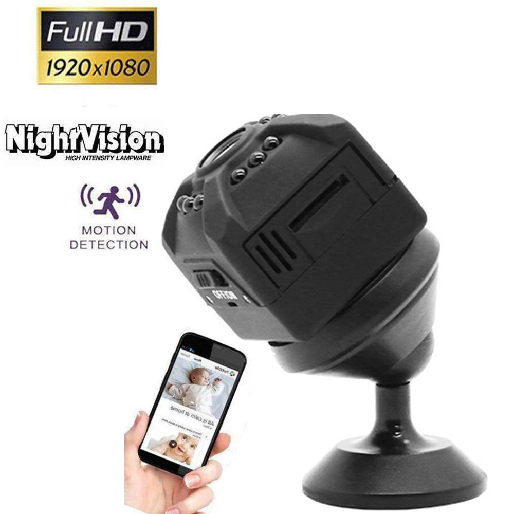HD Mini Camera Wireless Home Security HD 1080P Mini Camera Camcorder Car DVR Video Recorder Sport Digital Camera