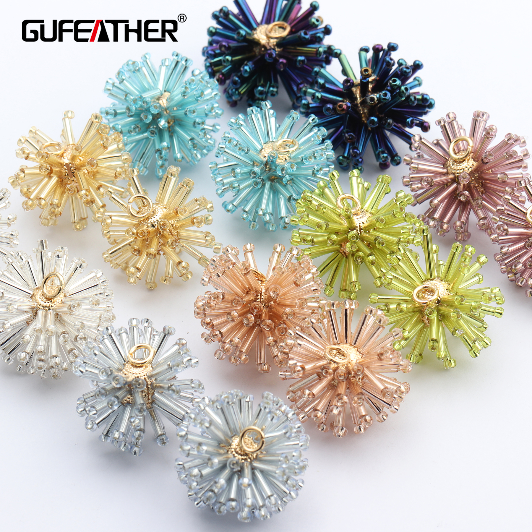 GUFEATHER M653,jewelry Accessories,diy Beads Accessories,copper Metal,jump Ring,hand Made,jewelry Making,diy Earrings,10pcs/lot