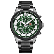 MINI FOCUS Luxe Merk Mannen Horloges Rvs 30m Waterdichte Multifunctionele Sport Klok Heren Horloge Quartz montre homme