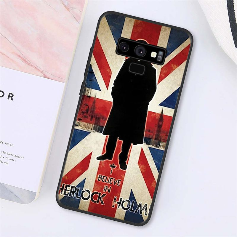 221B I Am Sherlock Holmes Sherlocked Phone Case For Samsung Galaxy A50 A70 A20 A30 Note9 8 Note7 Note10 Pro