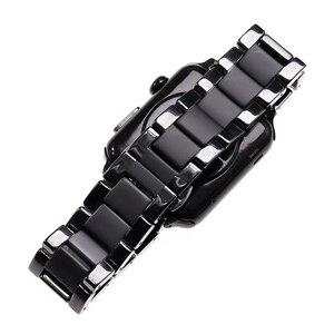 Image 4 - السيراميك ساندبلاستيد ماتي الرياضة حزام ل أبل سلسلة ساعة 2 3 4 5 iwatch 42 مللي متر 38 مللي متر 40 مللي متر 44 مللي متر الساعات سوار معصمه