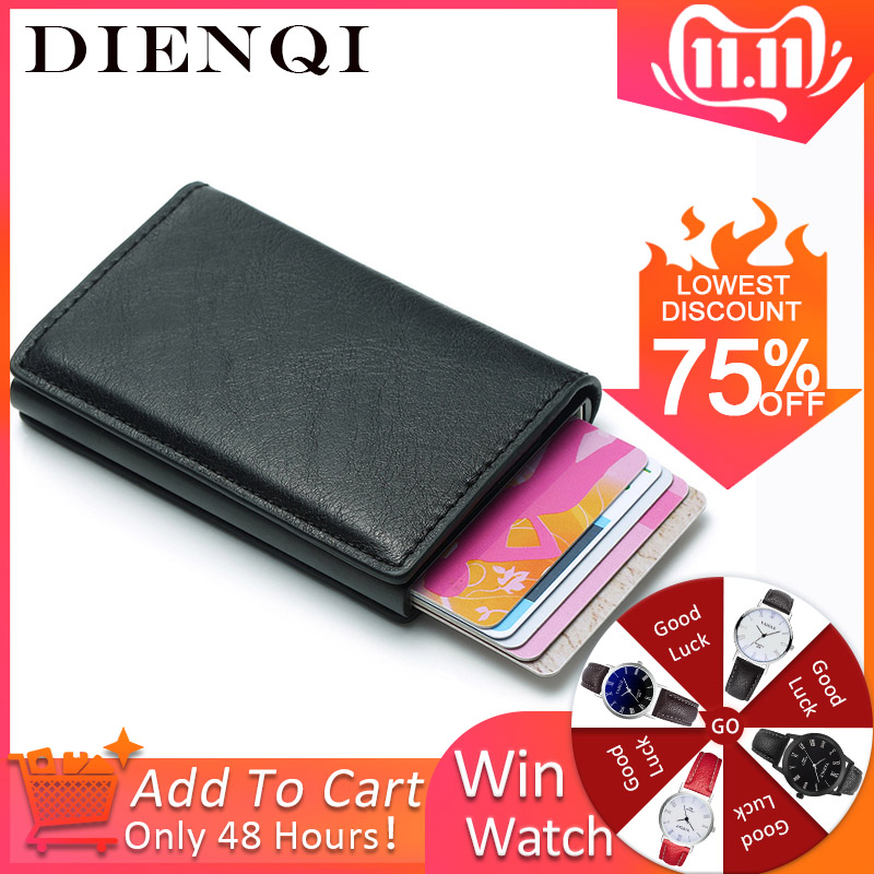 Men Wallets Money Bag Vintage Small Leather Slim Wallets Mini Wallets Thin