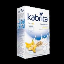 Kаша Kabrita на козьем молоке 7 злаков с бананом с 6 мес 180 гр