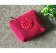 Korean canvas coin purse small change fabric small cloth bag key bag card storage bag short paragraph simple men and women cute