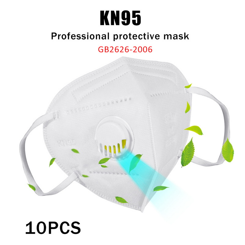 Fast Delivery Hot Sale 10 Pcs KN95 Dustproof Anti-fog And Breathable Face Masks KN95 Mask 95% Filtration Features As KF94 FFP2
