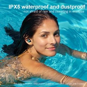 Image 5 - Tws fones de ouvido sem fio bluetooth 5.0 com cancelamento de ruído handsfree led display digital