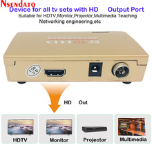 RF כדי HD כל סטנדרטי ממיר HD כדי רדיו תדר אות RF כדי HDMI משדר אות אנלוגי טלוויזיה מקלט מתאם עבור טלוויזיה