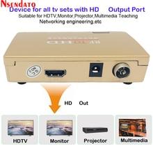 RF Để HD Tất Cả Tiêu Chuẩn Bộ Chuyển Đổi HD Radio Tần Số Tín Hiệu RF HDMI To HDMI Tín Hiệu Analog TV Adapter cho Tivi