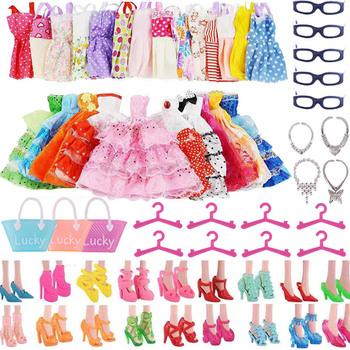 Lalka Barbie ubrania akcesoria dla Barbie buty dla lalek Mini sukienka torebki korona wieszaki okulary dla lalka Barbie i 1 6 BJD Blythe tanie i dobre opinie ZWSISU MATERNITY W wieku 0-6m 7-12m 13-24m 25-36m 4-6y 7-12y 12 + y Tkanina CN (pochodzenie) free shipping Unisex Styl życia