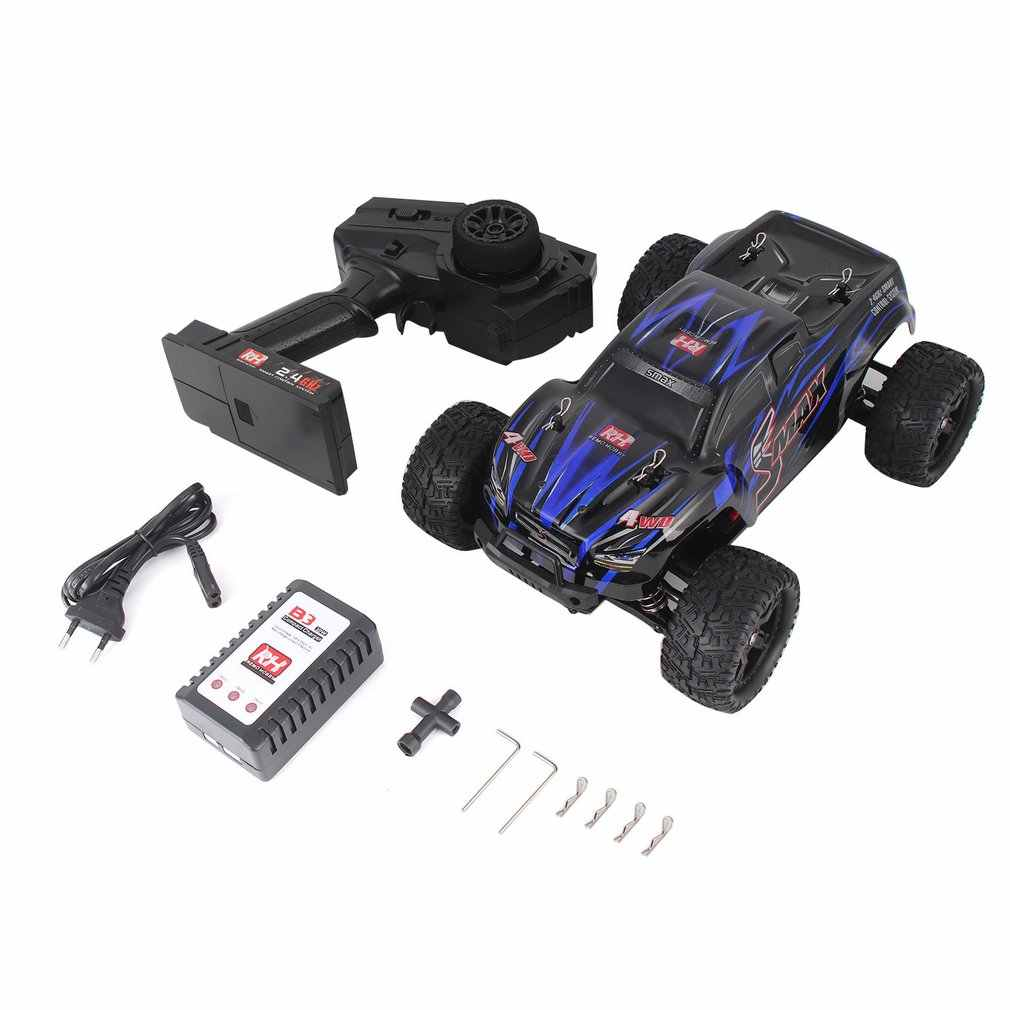 REMO 1631 1/16 Scale 2.4G 40km/h High Speed 4WD Brushed Off-Road Truck Big Wheels Bigfoot SMAX RC Car Remote Control Kids Gift