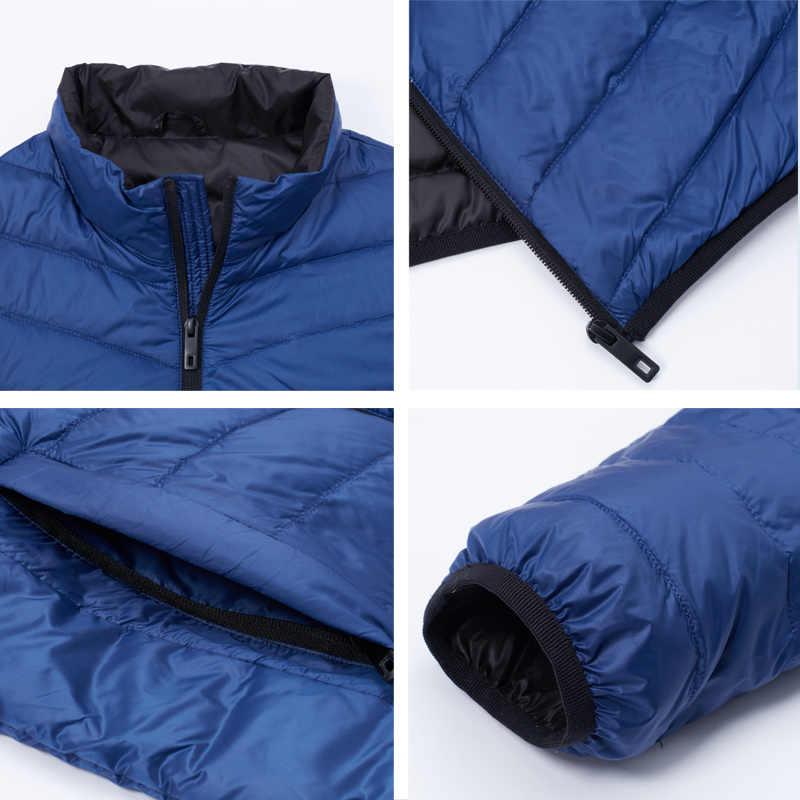 ICEbear 2020 새로운 경량 남성 다운 재킷 품질 남성 재킷 남자 봄 코트 따뜻한 남자 의류 MWY19999D
