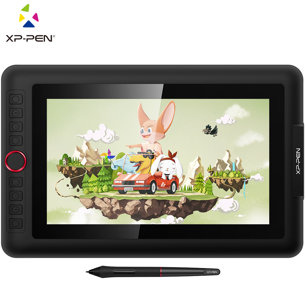 XP-Pen Artist 12 Pro Digital Tablet USB interface Graphic Tablet Drawing Tablet Display Monitor with Shortcut Keys and Touch Pad