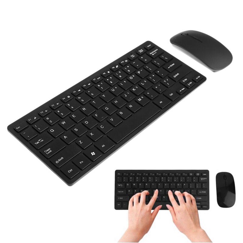 Image 3 - Wireless 2.4GHz Mini Keyboard Ultra Thin Mouse Combo Set For Desktops LaptopsKeyboard Mouse Combos   - AliExpress