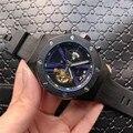 Top Offshore Serie di Sport del Mens Della Vigilanza Reloj di Lusso Tourbillon Orologi Meccanici Degli Uomini Automatici Reale Orologi Da Polso montre homme